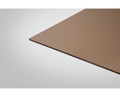Монолитный Поликарбонат КИВИ 6,0 мм 2050x3050 м бронзовый 40%