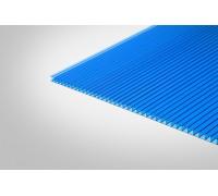 Сотовый поликарбонат Полигаль 10,0 мм 2100x6000 м синий 30% ГОСТ