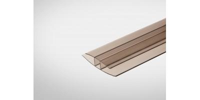 Профиль Полигаль Практичный 6,0 мм x6000 м бронзовый
